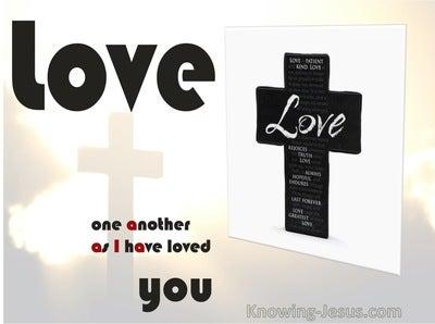 John 3:34  Love As I Have Loved (devotional)03:25 (white)