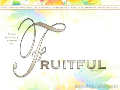 1 Peter  1-8 Be Fruitful Through Suffering (devotional)02-22 (white)