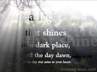 2 Peter 1:19 Destructive Disinterest (devotional)07:01 (gray)