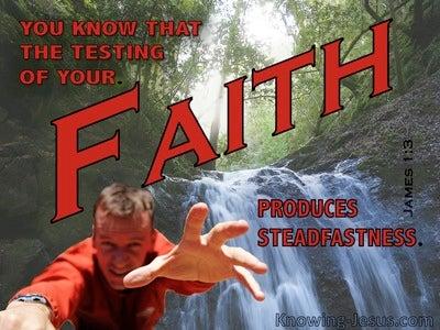 James 1:3 Developing Faith (devotional)03:14