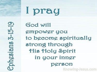 Ephesians 3:15:19 Paul's Perfect Prayer (devotional)12:05 (white)