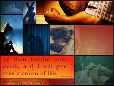 Revelation 2:10 God's Little Remnant (devotional)07:19 (orange)