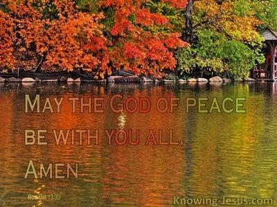 14 Bible verses about Spiritual Peace