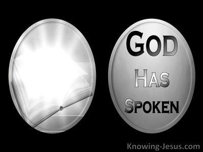 Hebrews 1:1 God Is Speaking (devotional)05:15 (black)