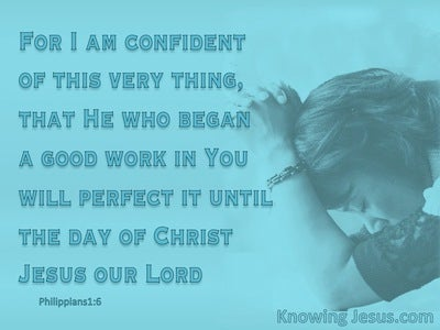 Philippians 1:6 Holiness To The Lord (devotional)03:21 (aqua)