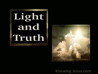 Psalm 43:3 O send out Your light and Your truth Light and Truth (brown)