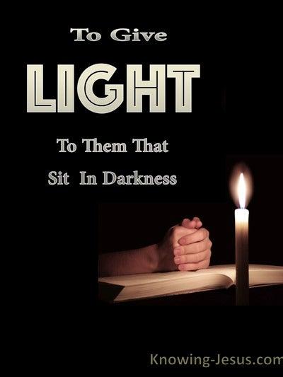 Luke 1:78 Light and Truth (devotional)06:17 (black)