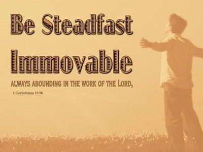 1 Corinthians 15:58 Living Life (devotional)04:29 (orange)