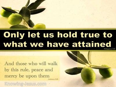 Galatians 6:16 Living in Him (devotional)07:26 (green)