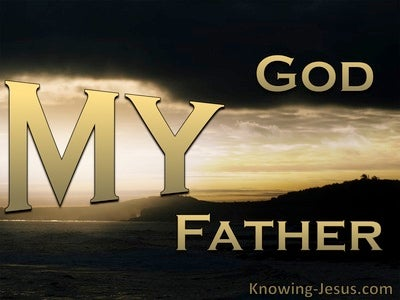 John 20:17 My God My Father (devotional) (gold)