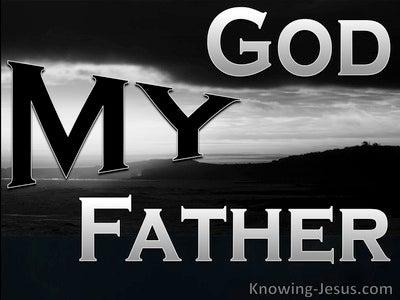 John 20:17 My God My Father (devotional)01:06 (black)