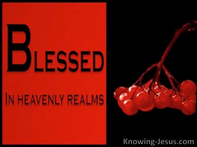 Ephesians 1:3 Our Blessed Father (devotional)08:11 (red)