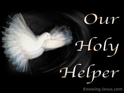 John 14:26 Our  Holy Helper (devotional)10:20 (black)