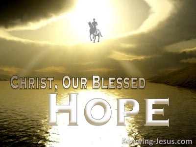 Titus 2:13 Rejoicing Hope (devotional)02:21 (yellow)