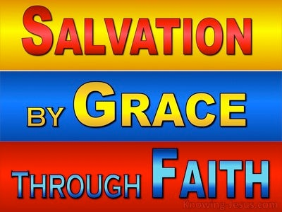 Ephesians 4:6 Salvation By Grace Through Faith (devotional)09:27 (red)