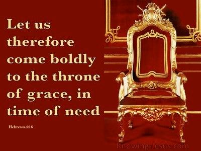 Hebrews 4:16 Stand In the Gap (devotional)07:27 (maroon)