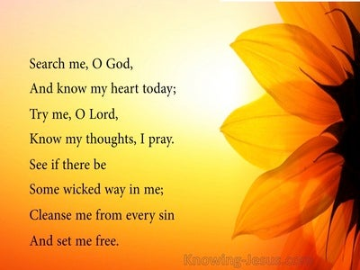 Psalm 139:23  The Beauty Lord Is You (devotional)01:31 (yellow)