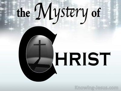 Ephesians 3:4 The Mystery of Christ (devotional)08:23 (white)