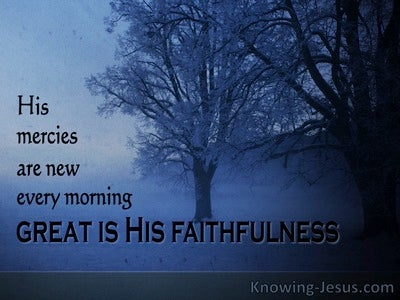 Lamentations 3:22 The Tried and Tested Way (devotional)04:29 (navy)