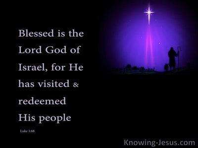 Luke 1:68 The Visit (devotional)06:14 (black)
