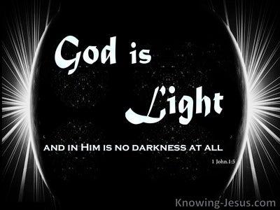 1 John 1:5 The Word of Light (devotional)03:20 (black)