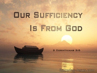 2 Corinthians 3:5 Our Sufficiency Is From God (windows)04:15