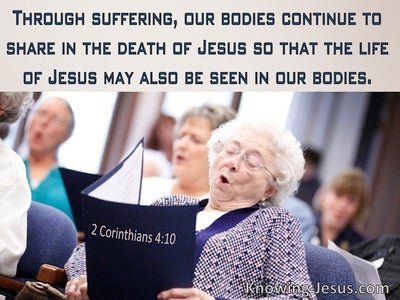 2 Corinthians 4:10 Through Suffering We Share In The Death Of Christ (windows)10:04