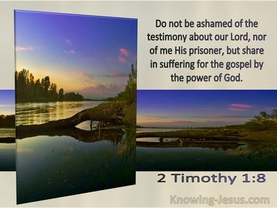 2 Timothy 1:8  Do Not Be Ashamed But Share In The Suffering Of The Gospel (windows)06:02
