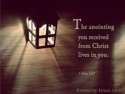 1 John 2:27 The Anointing Your Received From Christ Lives In You (windows)02:10