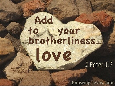 2 Peter 1:7 Add To Your Brotherlieness, Love (utmost)05:11