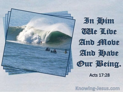 Acts 17:28 In Him We Live And Move And Have Our Being (windows)02:21