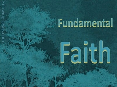 Faith Fundamentals (devotional) (sage)