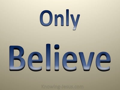Only Believe (devotional)
