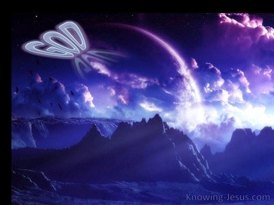 The Incomprehensible God (devotional) (purple)