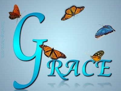 GRACE Butterfly (blue)