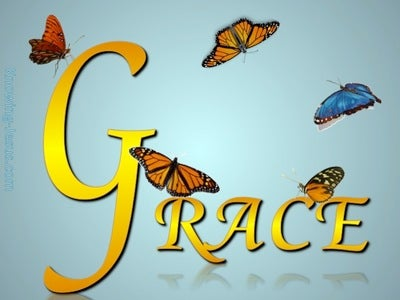 GRACE butterfly (gold)