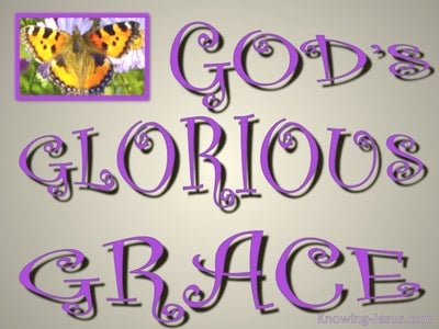 God's Glorious Grace (purple)