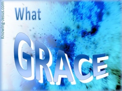 What Grace (blue)