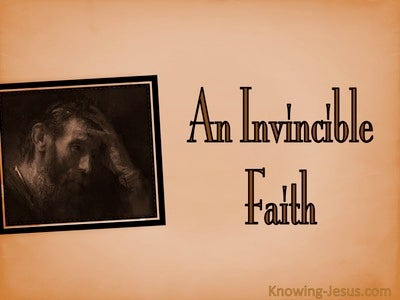 An Invincible Faith (devotional) (brown)
