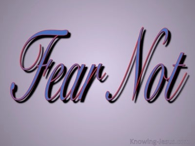 Fear Not (purple)