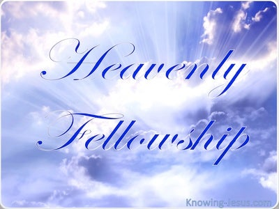 Heavenly Fellowship (devotional) (blue)