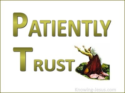 Patiently Trust (devotional)