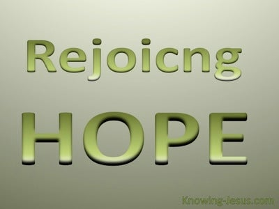 Rejoicing Hope (devotional)