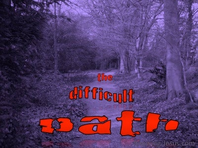 The Difficult Path Devotional (purple)