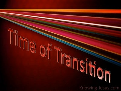 Time of Transition (devotional) (red)