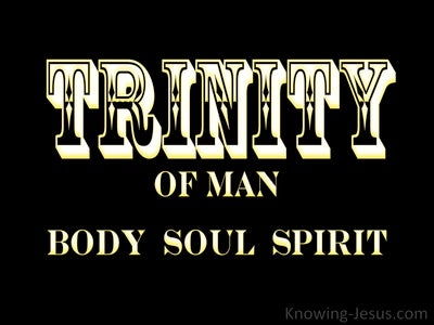 Trinity Of Man (devotional)Trinity Of Man (devotional) (black)