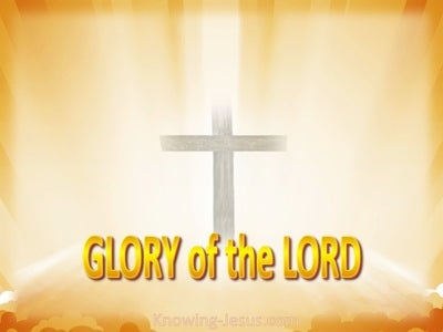 Isaiah 40:5 The Glory of the Lord (yellow)
