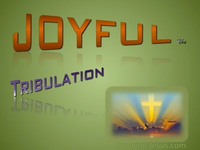 Joyful in Tribulation (green)