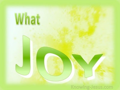 What Joy (green)