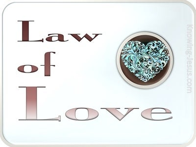 The Law Of Love (devotional) (green)
